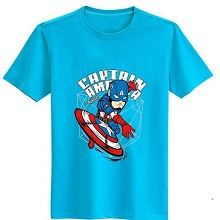 The Avengers Captain America cotton t-shirt