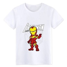 Iron Man cotton t-shirt