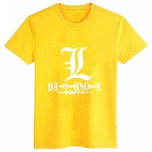 Death Note anime cotton t-shirt