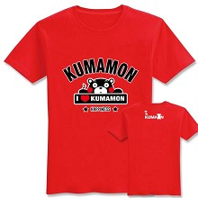 Kumamon cotton t-shirt