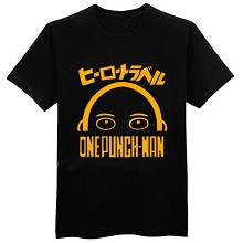 One Punch Man anime cotton t-shirt