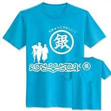 Gintama anime cotton t-shirt