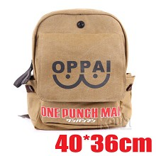 One Punch Man anime backpack bag