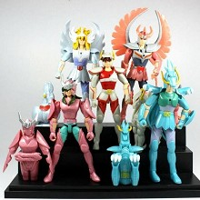 Saint Seiya anime figures set(5pcs a set)