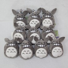 4inches TOTORO plush dolls set(10pcs a set)