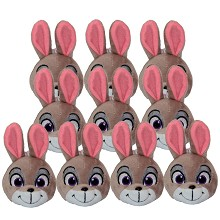 3inches Zootopia plush dolls set(10pcs a set)