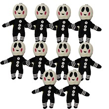 4inches Five Nights at Freddy's plush dolls set(10pcs a set)