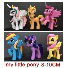 My Little Pony figures set(6pcs a set)
