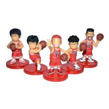Slam Dunk anime figures set(5pcs a set)