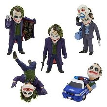 Batman joker figures set(5pcs a set)