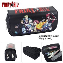 Fairy Tail multifunctional anime pen bag
