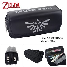 The Legend of Zelda multifunctional anime pen bag