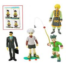 Hunter X Hunter anime figures set(4pcs a set)