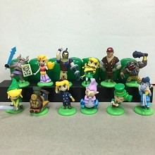 The Legend of Zelda figures set(12pcs a set)