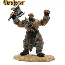 Warcraft film Orgrim figure