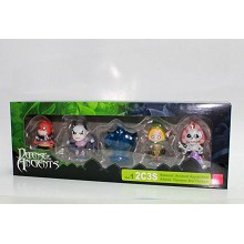 DOTA 2C3S figures set(5pcs a set)