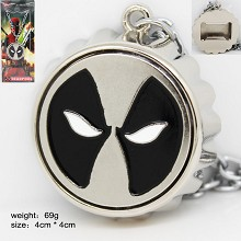 Deadpool anime necklace