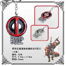 Deadpool anime key chain