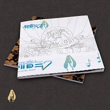 Hatsune Miku anime drawing book