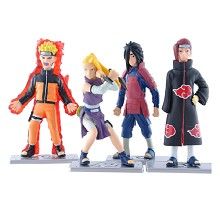 Naruto anime figures set(4pca s set)