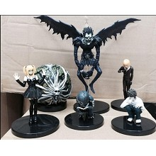 Death Note anime figures set(6pcs a set)