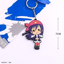 Lovelive Sonoda Umi anime key chain