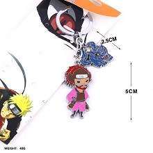 Naruto anime key chain