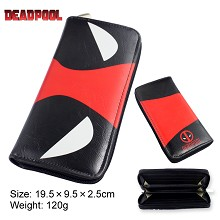 Deadpool anime pu long wallet