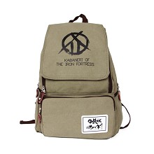 Koutetsujou no Kabaneri anime backpack bag