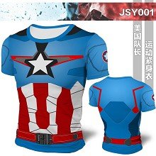 Captain America Mens Bodybuilding Hoodies Print Hoodie Sport Hoodies t-shirt