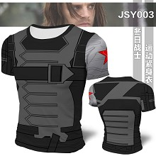 Winter Soldier Mens Bodybuilding Hoodies Print Hoodie Sport Hoodies t-shirt