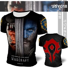 Warcraft Mens Bodybuilding Hoodies Print Hoodie Sport Hoodies t-shirt