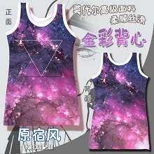 The anime tank top vest(female)