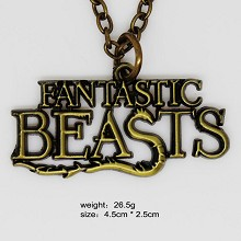 Fantastic Beasts & Where to Find Them necklace