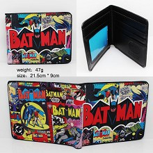 Batman pu wallet
