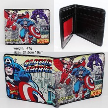 Captain America pu wallet
