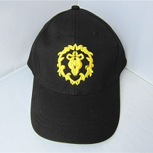 Warcraft anime cap sun hat