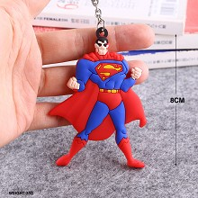 Super Man key chains set(5pcs a set)