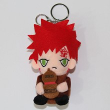 5.2inches Naruto Gaara plush dolls set(4pcs a set)