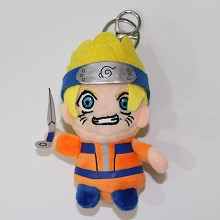 5.2inches Naruto plush dolls set(4pcs a set)