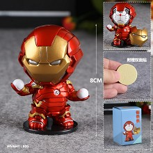 Doraemon cosplay Iron man anime figure