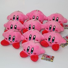 5inches Kirby anime plush dolls set(10pcs a set)