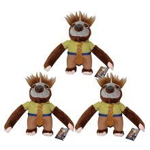 8inches Zootopia plush dolls set(3pcs a set)