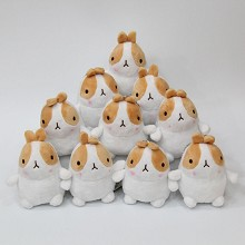 4inches Molang anime plush dolls set(10pcs a set)
