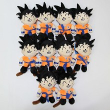 4inches Dragon Ball Son Goku anime plush dolls set...