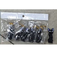 Kiki's Delivery Service anime figures set(5pcs a set)