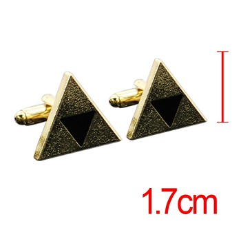 The Legend of Zelda cufflink cuff sleeve button set(2pcs a set)