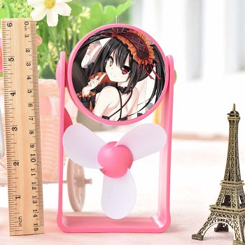 Date A Live anime USB fan