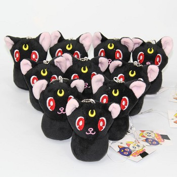 4inches Sailor Moon anime plush dolls set(10pcs a set)