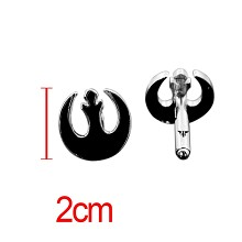Star Wars anime cufflink cuff sleeve button set(2pcs a set)